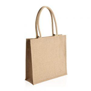 יוטה – תיק מעוצב עשוי בד דיוט עם ידיות קשיחות