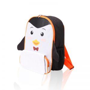פינגווין – תיק גב צידנית לילדים בדמות פינגווין