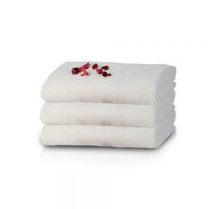 """טיפה – מגבת ידיים עשויה 100% כותנה 30X30 ס""""מ"""