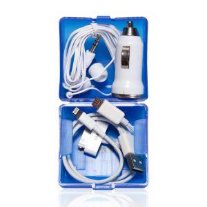 מוליך -סט מושלם לרכב הכולל מטען USB לרכב