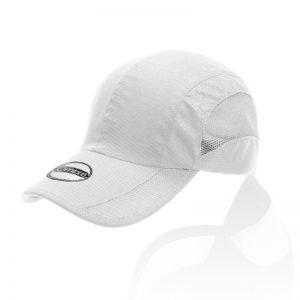 RUN- כובע 6 פאנלים עשוי מייקרופייבר