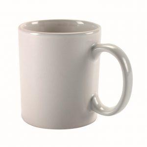 מאג  לבן – ספל שתיה לבן מפורצל