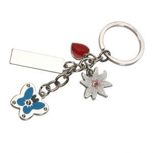 גרופ – מחזיק מפתחות ממתכת מצופ