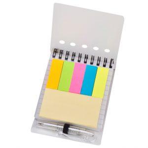 טיונס-פנקסA6כריכתפלסטיק,עט