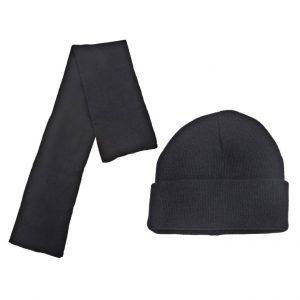 פולר – סט כובע וצעיף . 100% אק
