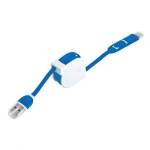 סמארט – כבל USB מתקפל. 3 מתאמי