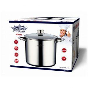 סיר עמוק ואיכותי לבישול בריאותי עם יותר טעמים PH-15825-28 PETERHOF 14L.