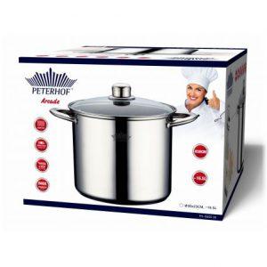 סיר עמוק ואיכותי לבישול בריאותי עם יותר טעמים PH-15825-30 PETERHOF 16.5L.