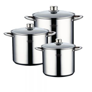 סט 6 חלקים סירים לבישול איכותי במגוון גדלים פטרהוף PH-1546S PETERHOF.